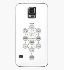 Kabbalistic Tree of Life (Sephiroth)  Case/Skin for Samsung Galaxy