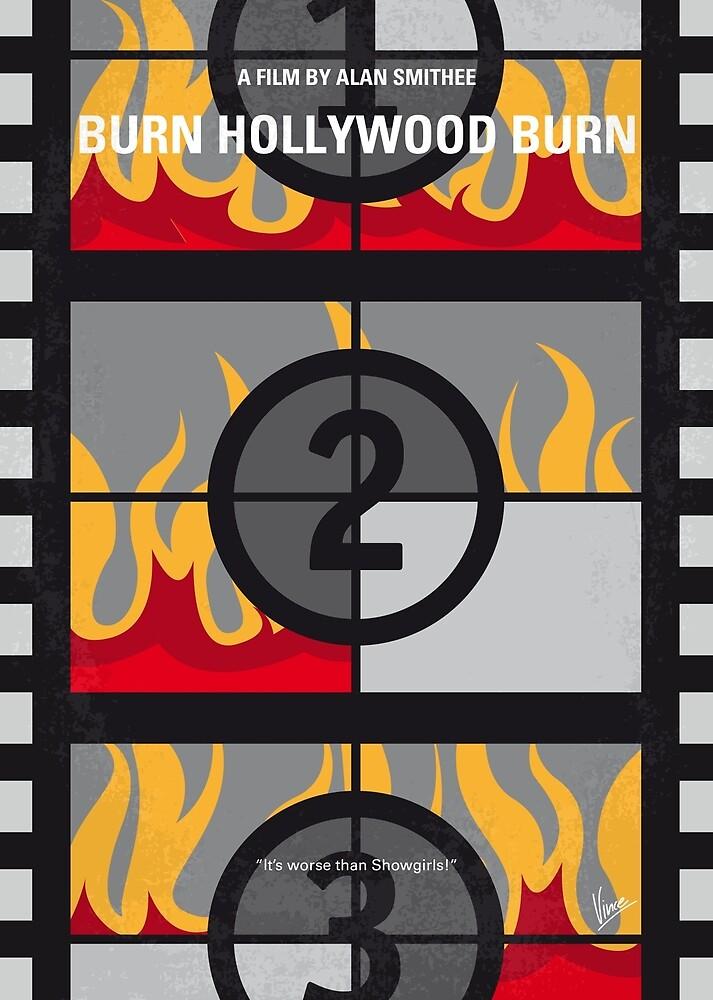 No1056 Mein Burn Hollywood Burn-Filmposter von ChungKong Art