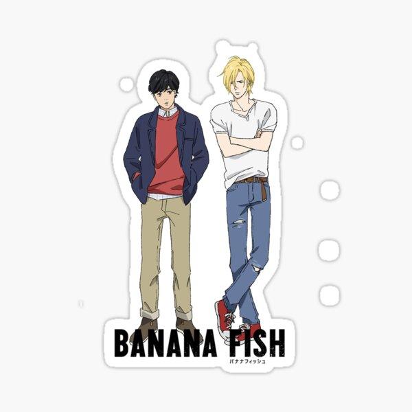 banana fish stickers redbubble