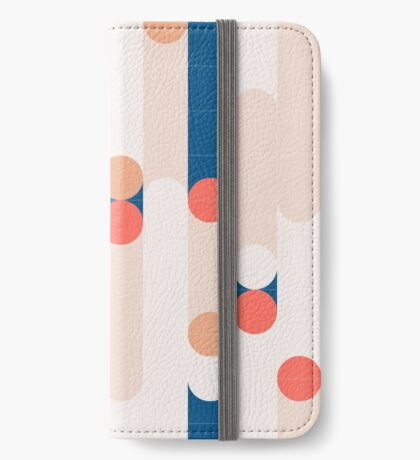 The Sound Of Tiles #redbubble #pattern iPhone Wallet