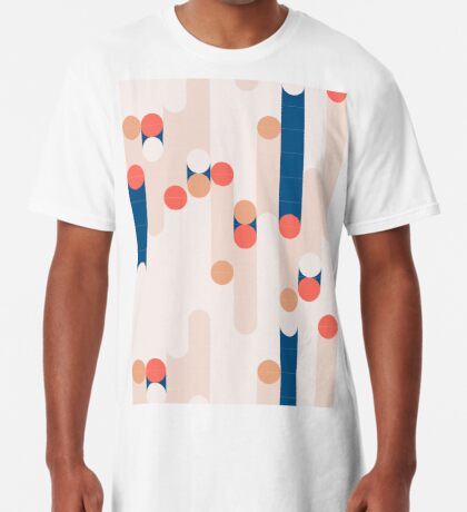 The Sound Of Tiles #redbubble #pattern Long T-Shirt