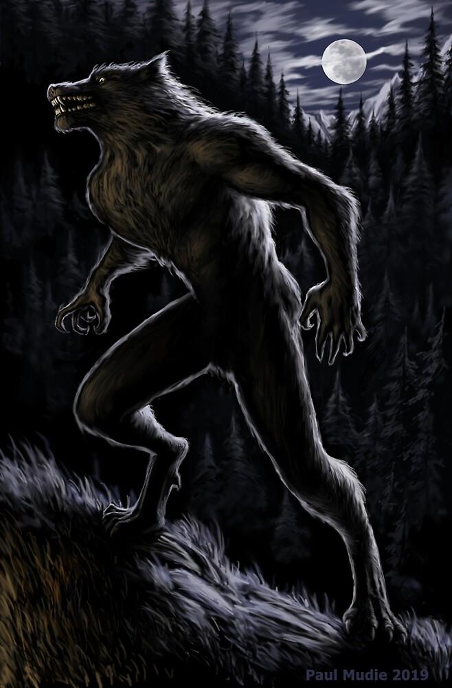 Return of the Werewolf by Paul Mudie