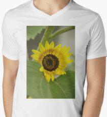 Sunflower - macro Men's V-Neck T-Shirt