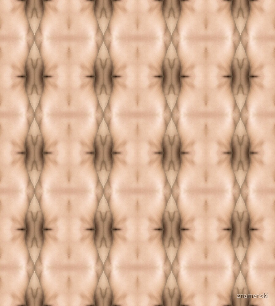 #brown, #beige, #symmetry, #abstract, design, pattern, art, decoration, wicker by znamenski