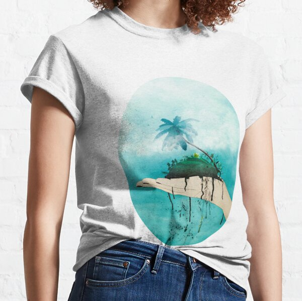 Crumbling paradise Classic T-Shirt
