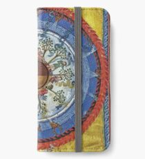 art, religion, old, decoration, antique, symbol, church, pattern, ancient, painting, spirituality, design, god, sign iPhone Wallet/Case/Skin