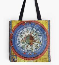 art, religion, old, decoration, antique, symbol, church, pattern, ancient, painting, spirituality, design, god, sign Tote Bag