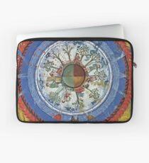 art, religion, old, decoration, antique, symbol, church, pattern, ancient, painting, spirituality, design, god, sign Laptop Sleeve