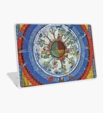 art, religion, old, decoration, antique, symbol, church, pattern, ancient, painting, spirituality, design, god, sign Laptop Skin
