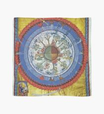 art, religion, old, decoration, antique, symbol, church, pattern, ancient, painting, spirituality, design, god, sign Scarf