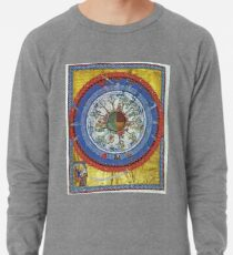 art, religion, old, decoration, antique, symbol, church, pattern, ancient, painting, spirituality, design, god, sign Lightweight Sweatshirt