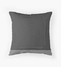 pattern, design, abstract, fiber, weaving, cotton, gray, textile, old, luxury, net Throw Pillow
