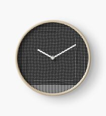 pattern, design, abstract, fiber, weaving, cotton, gray, textile, old, luxury, net Clock