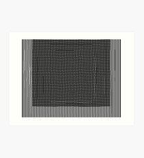 pattern, design, abstract, fiber, weaving, cotton, gray, textile, old, luxury, net Art Print