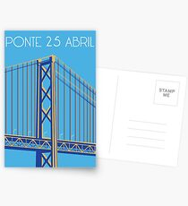 Ponte 25 Abril Postcards