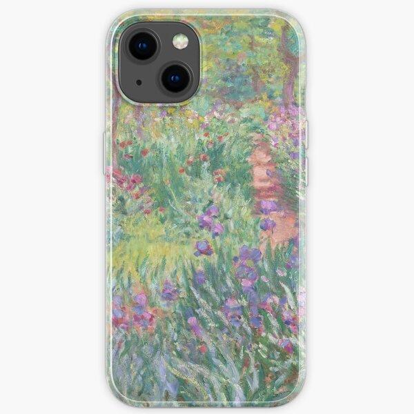 Garten in Giverny von Claude Monet iPhone Flexible Hülle