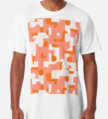 Puzzle Tiles #redbubble #pattern Long T-Shirt