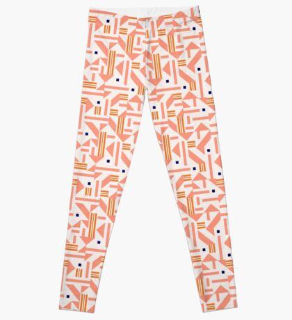 Random Tiles #redbubble #pattern Leggings