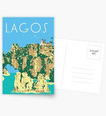 Algarve Lagos Postcards