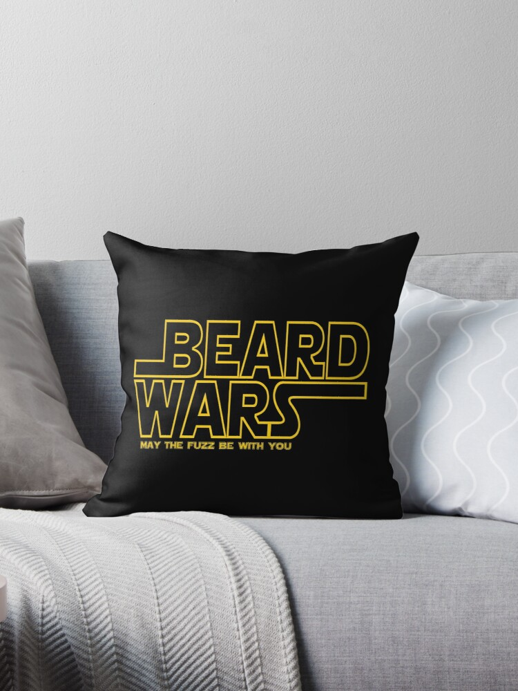 «Beard Wars May The Fuzz Be With You Hombres Funny Beard Sci-Fi» de ImageMonkey