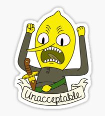 Lemongrab Sticker