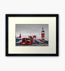 Big Ben and Union Jack Framed Print