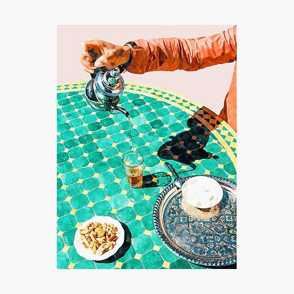 Chai #painting #digitalart Photographic Print