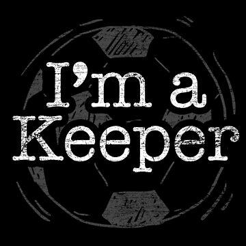 Soccer goalkeeper by GeschenkIdee