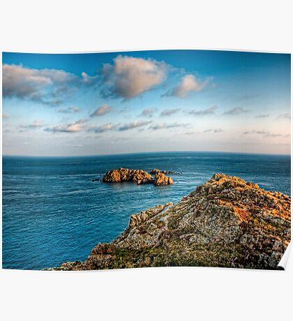 More rocks off Alderney! Poster