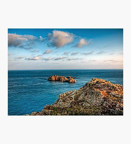 More rocks off Alderney! Photographic Print