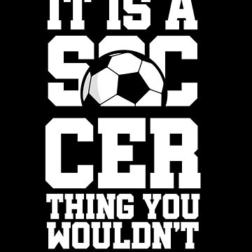Soccer footballer by GeschenkIdee