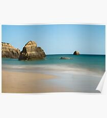 Praia da Rocha, Algarve, Portugal Poster