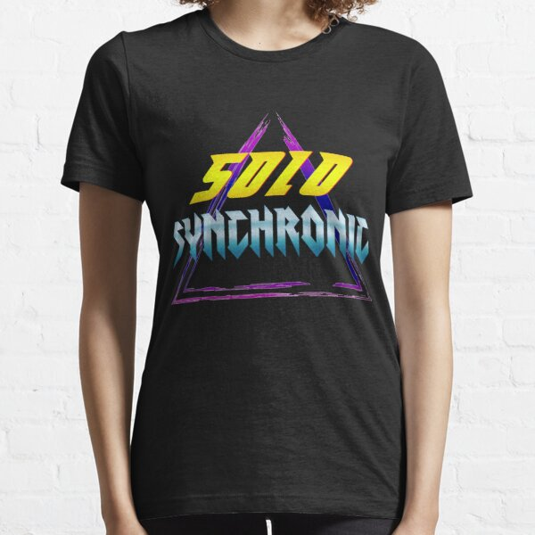 80er Retro Neon Look Essential T-Shirt