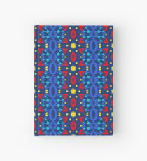 Red Blue Yellow Party  Hardcover Journal