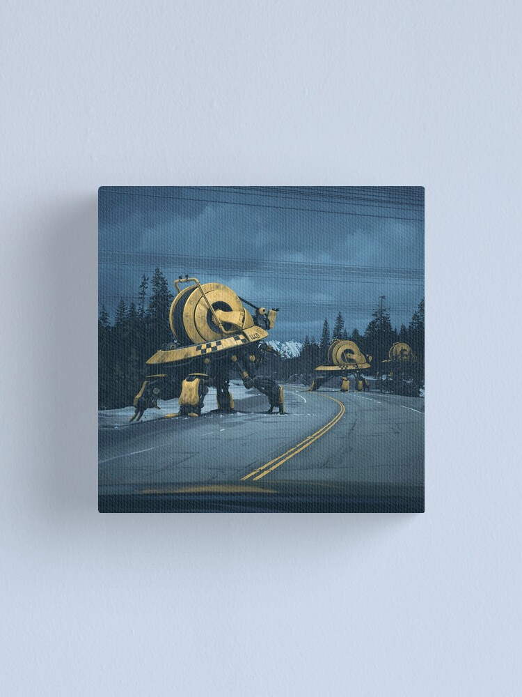 Alternate view of Cablers Canvas Print