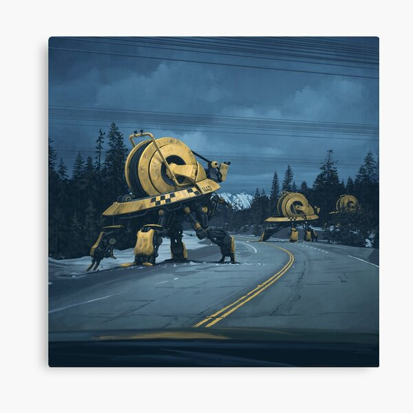 Cablers Canvas Print