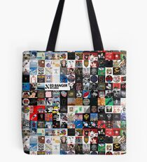 Records album collage Ed Banger Tote Bag