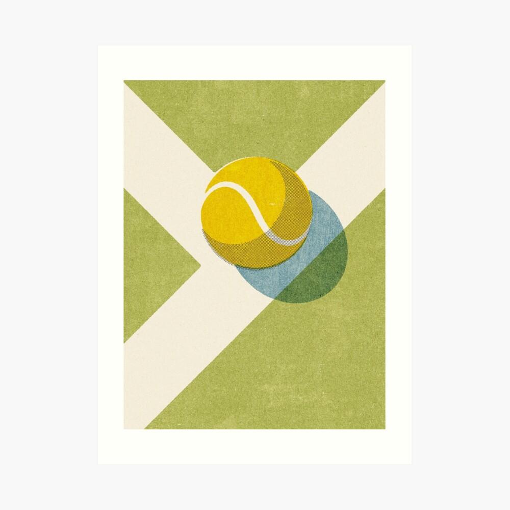 BALLS / Tennis (Grass Court) Art Print