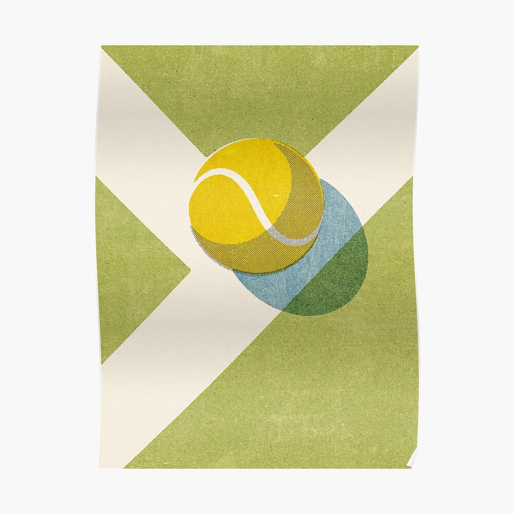BALLS / Tennis (Grass Court) Poster