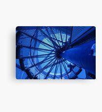 Tetraeder top staircase Canvas Print