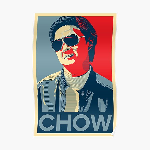 The Hangover Mr. Chow Poster