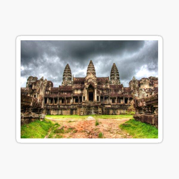 Angkor Wat Khmer Temple Cambodia Sticker