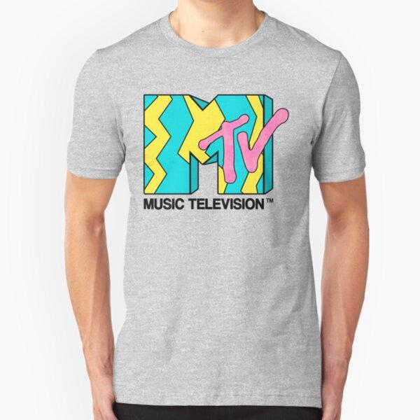 MTV - Video 80s Slim Fit T-Shirt