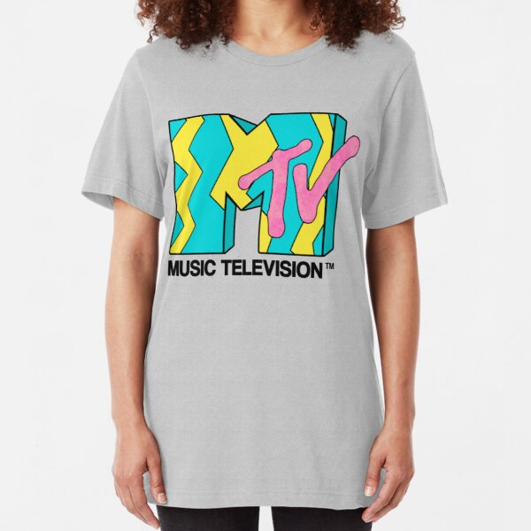 MTV - Video 80s Slim Fit T-Shirt