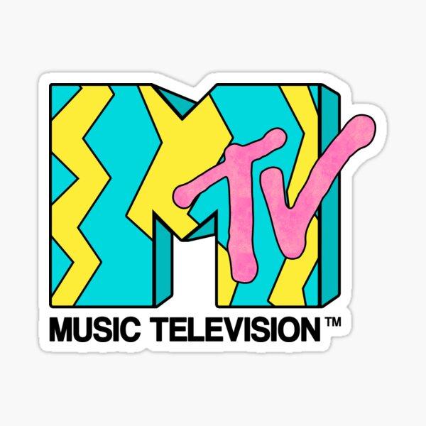 MTV - Video 80s Sticker