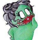 « Bloody Zombie » par darkrevette