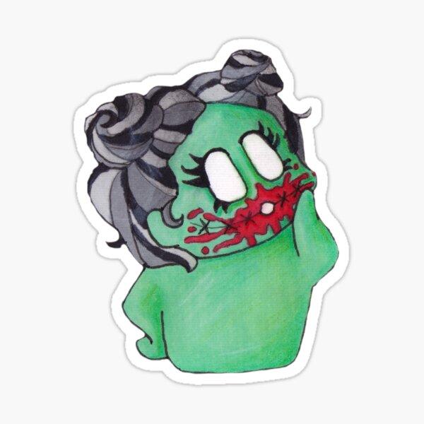 Bloody Zombie Sticker