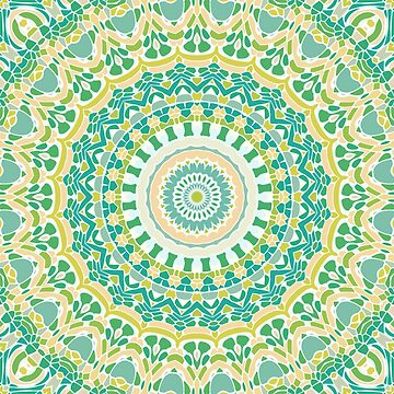 In the Fields Mandala by kellydietrich