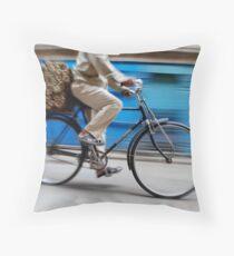 Race Throw Pillow