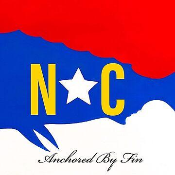 Anchored by fin NC Mahi  by barryknauff